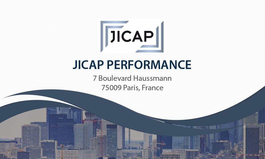 Carte de visite JICAP Performance